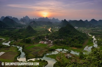 Guilin Photography Tour off the tourist track location