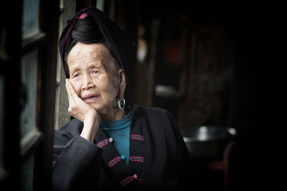 Guilin Photo Yao Tribe Portrait