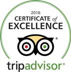 TripAdvisor Certificate of Excellence Certificate